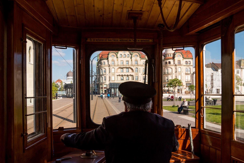 Tramvaiul de Epocă din Oradea