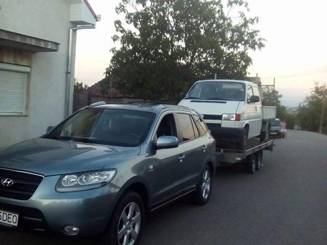 Tractări auto în Oradea
