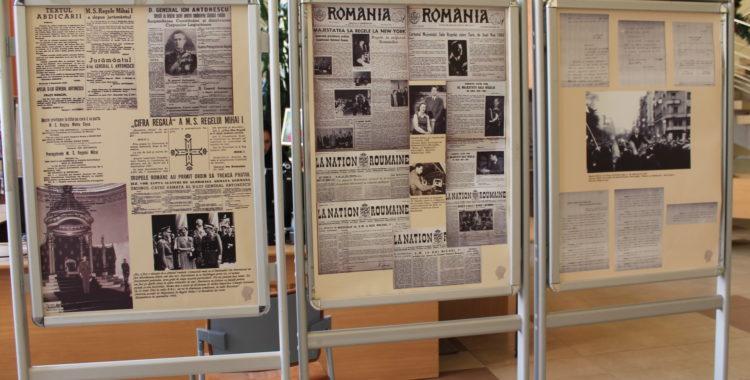 Expoziție în memoria Regelui Mihai I