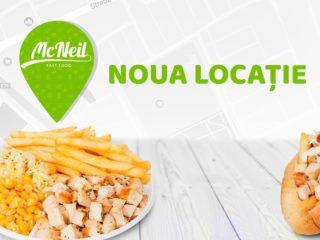 Unde se va deschide cea mai nouă locație McNeil?