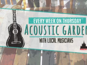 Acoustic Garden with Local Musicians