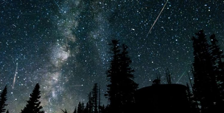 Ploaie de meteoriți – un spectacol natura