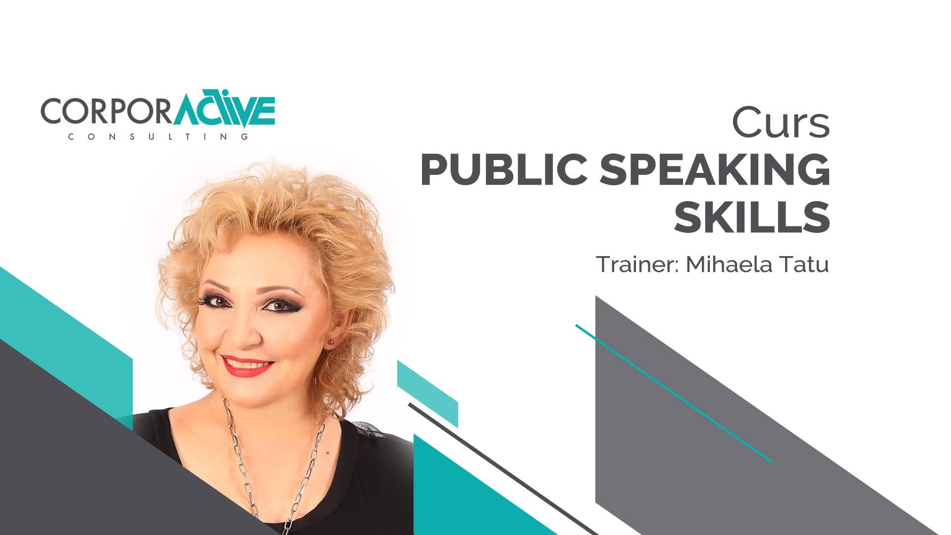 Curs Public speaking skills