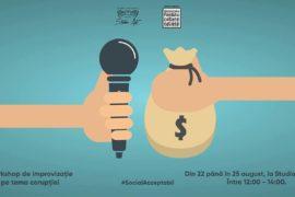 Workshop de improvizatie pe tema coruptiei