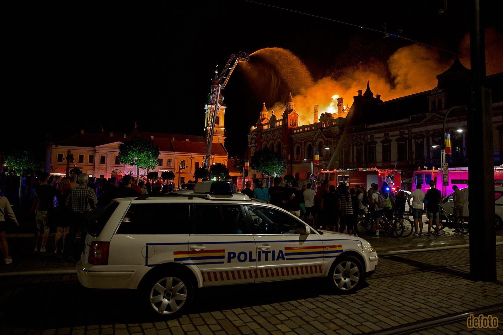 Cum am văzut incendiul!