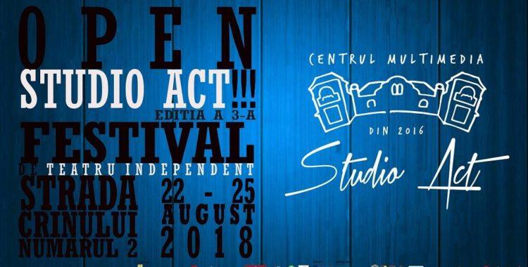 Festivalul Open Studio Act, la start Workshopuri de improvizaţie şi mişcare