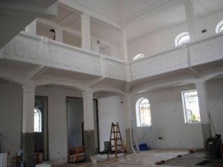 Sinagoga Ortodoxă din Oradea – lucrările de reabilitare se apropie de final