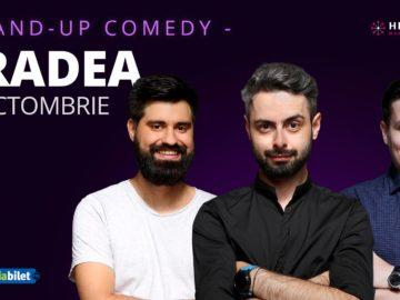 Oradea: Stand-up comedy cu Radu Bucălae, George Tănase & Geo