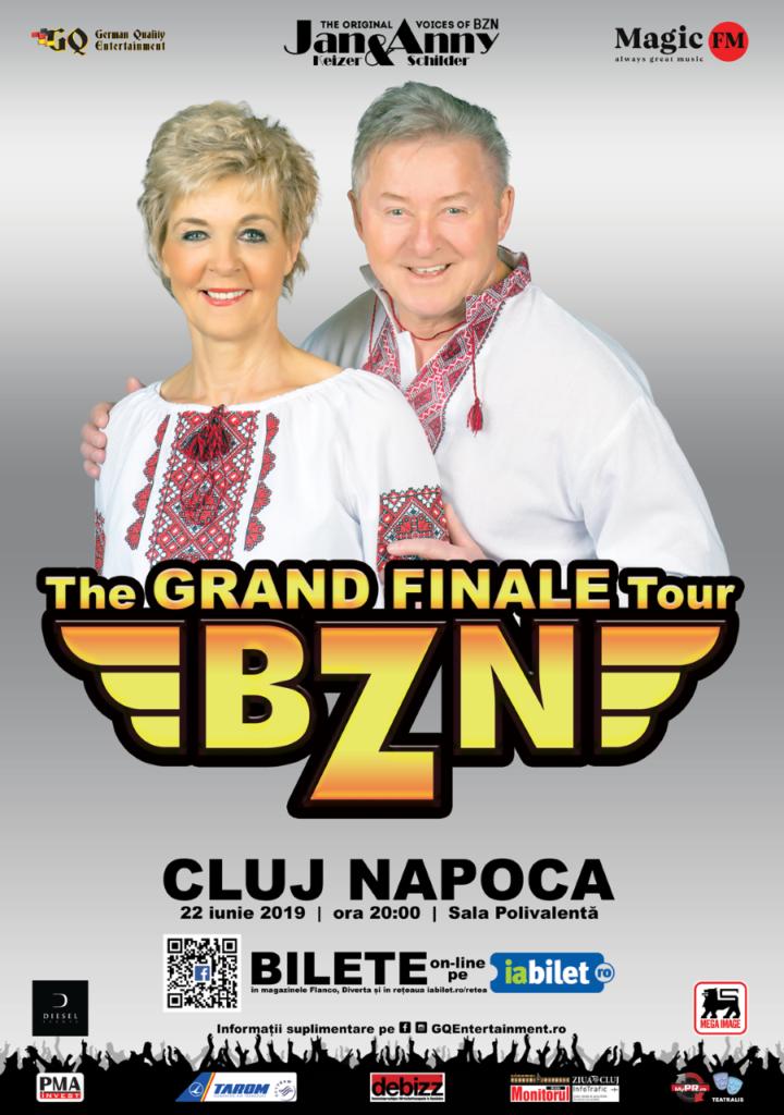 Concert BZN la Sala Polivalenta Cluj