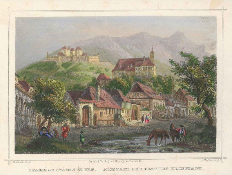 Istoria orașului de la poalele Tâmpei: Brașovul în Evul Mediu