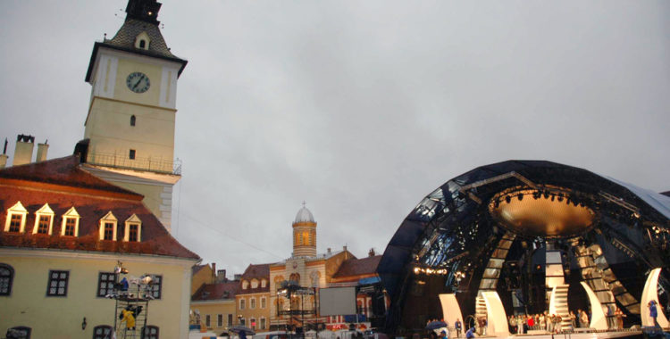 """Primăria Brașov este pregătită să reînvie festivalul """"Cerbul de Aur"""""""
