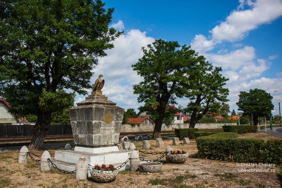 Monumentul din zona Bartolomeu (Tranșeea Morții)