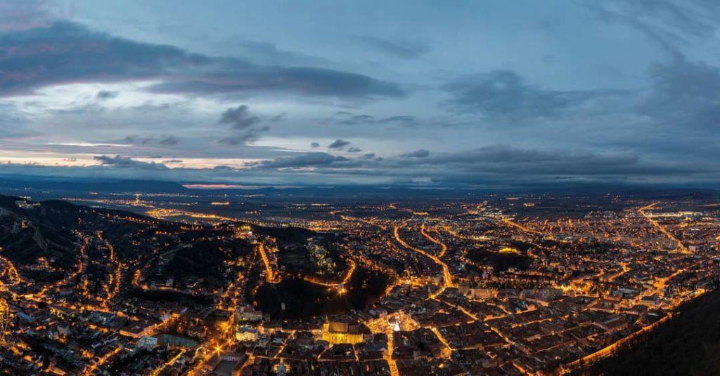 7 locuri de unde poți vedea Brașovul panoramic