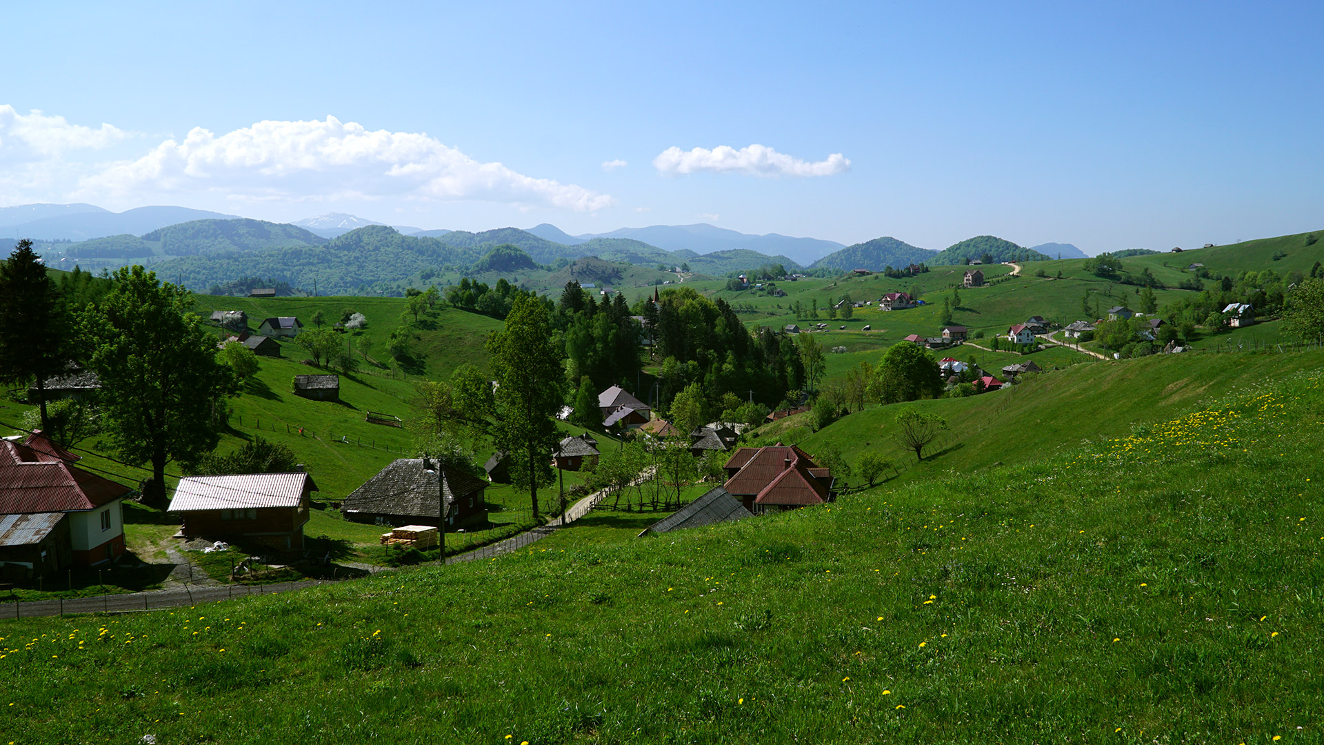 Brașovul premiant satul Șirnea