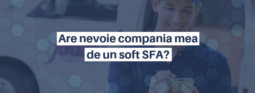 SFA software ok