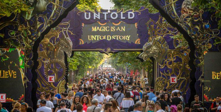 UNTOLD caută peste 2000 de voluntari