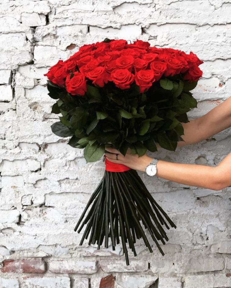 ocazii buchet de trandafiri