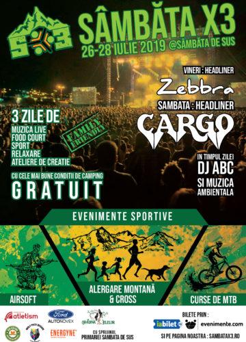Festivalul Sportiv Sambata X3