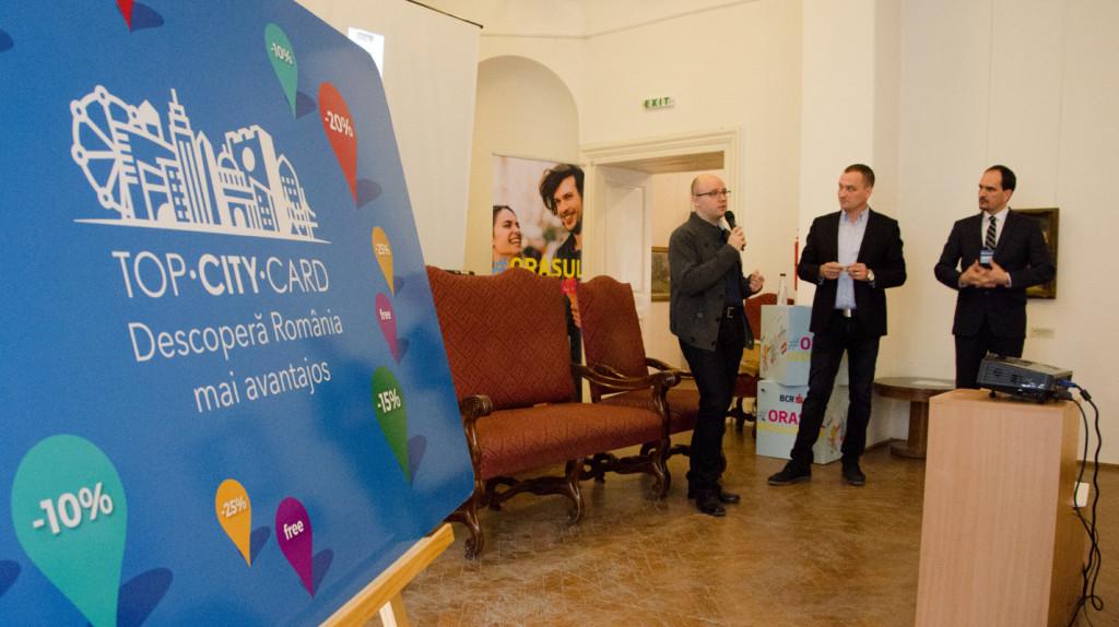 Conferinta de lansare a proiectului Top City Card