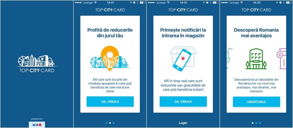 o zi importanta aplicatia top city card colaj