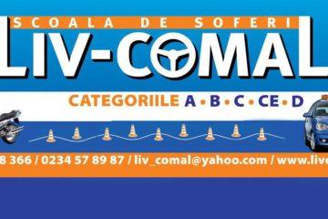 Scoala de soferi LIV COMAL Bacau